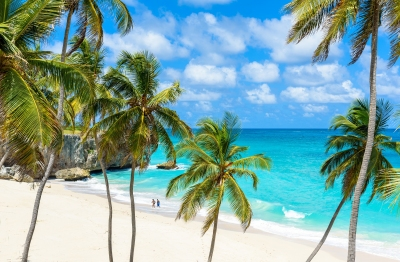 Strand der Bottom Bay auf Barbados (Simon Dannhauer / stock.adobe.com)  lizenziertes Stockfoto  License Information available under 'Proof of Image Sources'